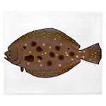 Summer Flounder King Duvet