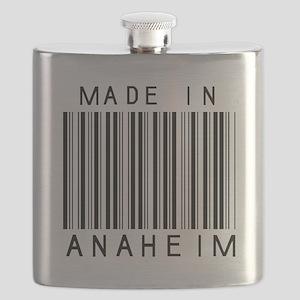 Anaheim barcode Flask