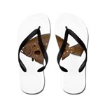 Summer Flounder Flip Flops