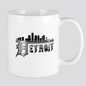 Detroit Skyline Mugs