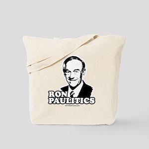 Ron Paul 2008: Ron Paulitic Tote Bag