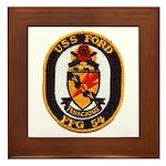 USS FORD Framed Tile