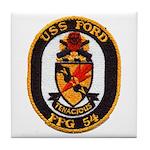 USS FORD Tile Coaster