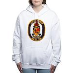 USS FORD Women's Hooded Sweatshirt