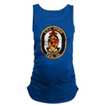 USS FORD Maternity Tank Top
