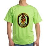 USS FORD Green T-Shirt