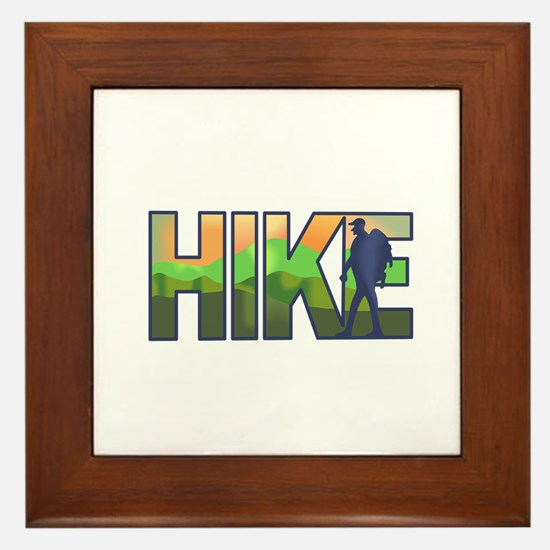 HIKE Framed Tile