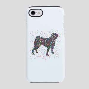 Party Animal Pug iPhone 7 Tough Case