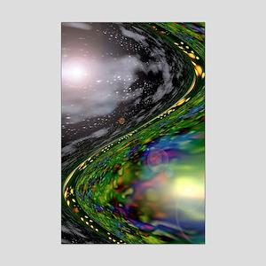 Space/Time Mini Poster Print