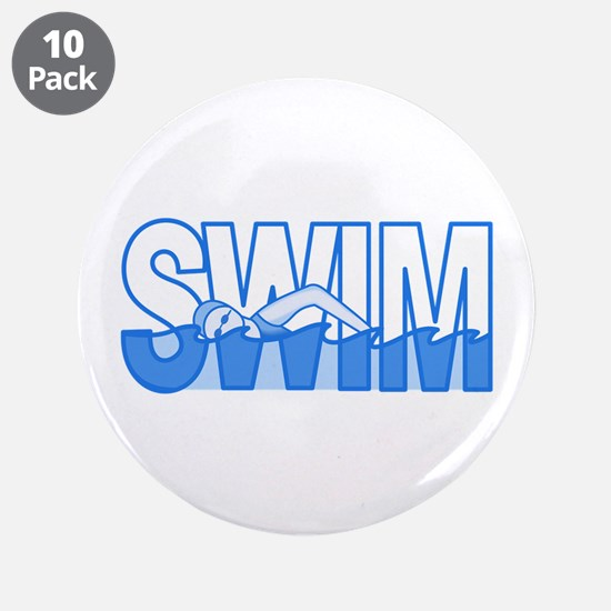 "SWIM 3.5"" Button (10 pack)"