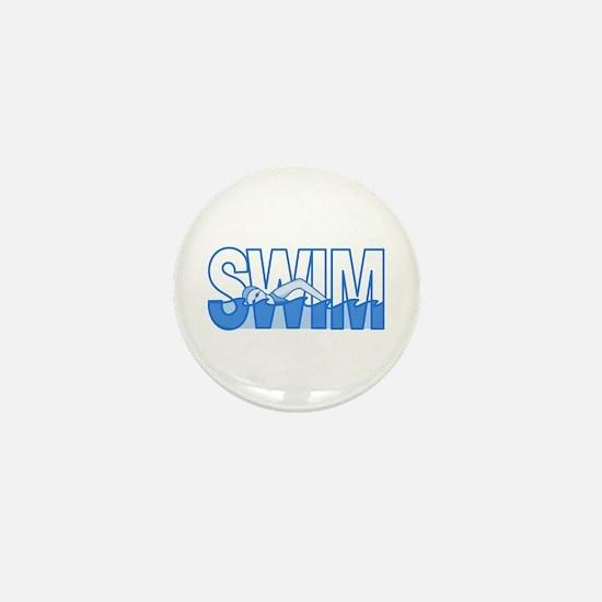 SWIM Mini Button