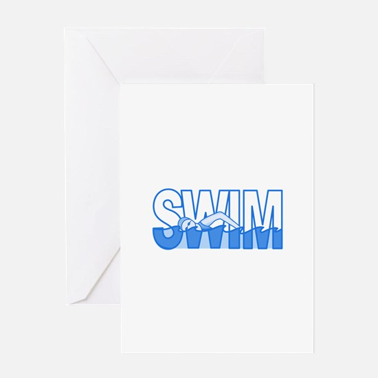 SWIM Greeting Cards