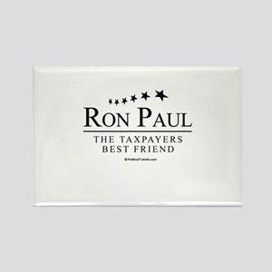Ron Paul: The taxpayers best friend Rectangle Magn