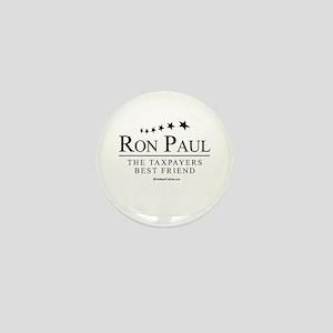 Ron Paul: The taxpayers best friend Mini Button