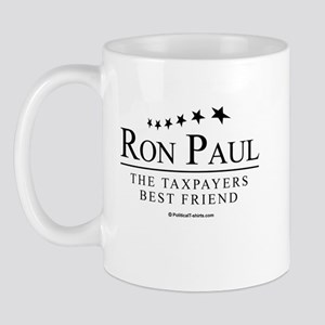 Ron Paul: The taxpayers best friend Mug