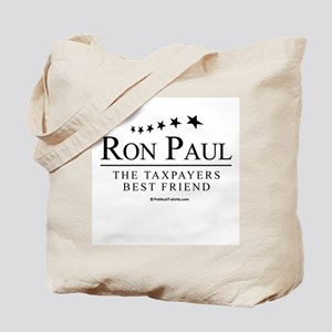 Ron Paul: The taxpayers best friend Tote Bag