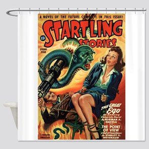 STARTLING STORIES-VINTAGE PULP MAGAZINE COVER Show