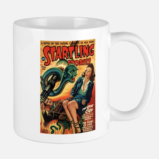 STARTLING STORIES-VINTAGE PULP MAGAZINE COVER Mugs