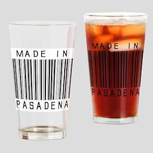 Pasadena Barcode Drinking Glass