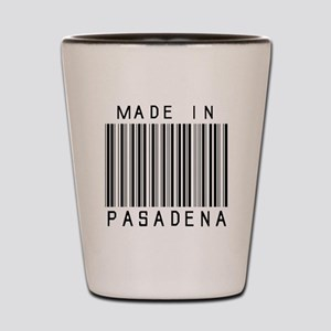 Pasadena Barcode Shot Glass
