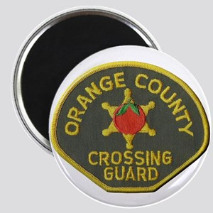 Orange County Crossing Guard Magnets