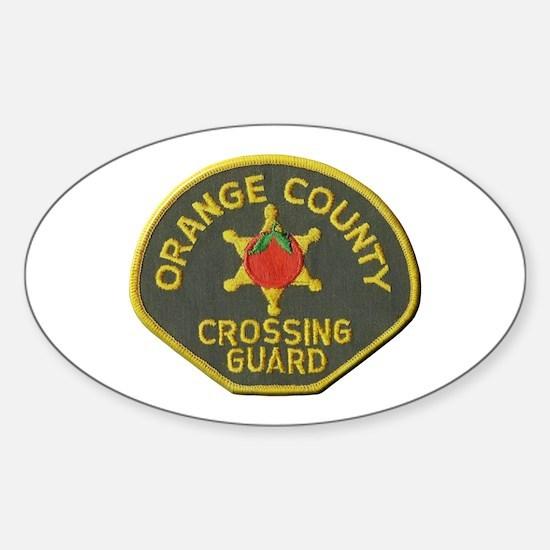 Orange County Crossing Guard Decal