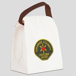 Orange County Crossing Guard Canvas Lunch Bag