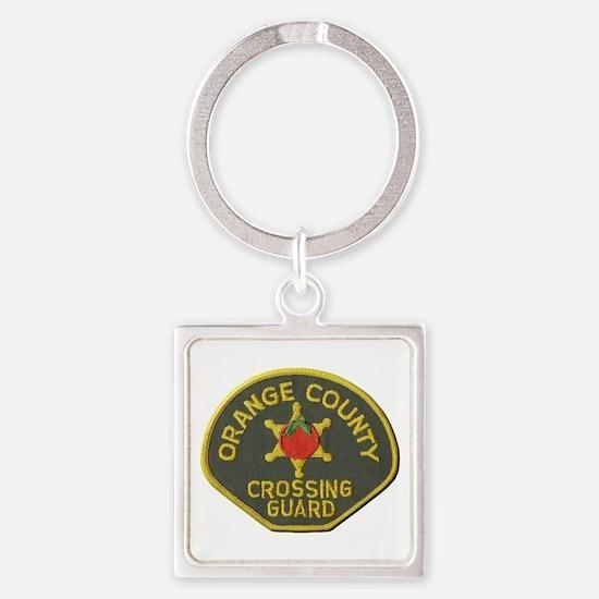 Orange County Crossing Guard Keychains
