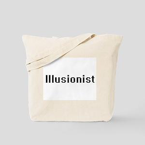 Illusionist Retro Digital Job Design Tote Bag