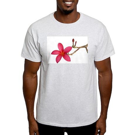 Red Frangipani flower Light T-Shirt