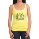 Snow Winter Getaway Jr. Spaghetti Tank