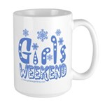 Snow Winter Getaway Large Mug