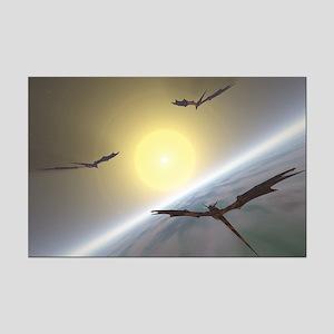Sky Dragons Mini Poster Print