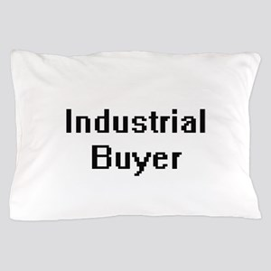 Industrial Buyer Retro Digital Job Des Pillow Case
