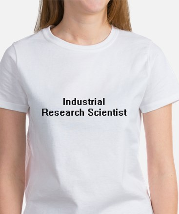Industrial Research Scientist Retro Digita T-Shirt
