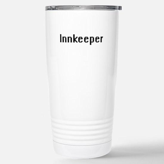 Innkeeper Retro Digital Stainless Steel Travel Mug
