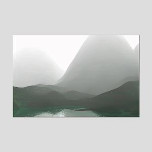 Morning Mist Mini Poster Print