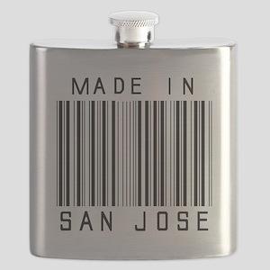 San Jose Barcode Flask