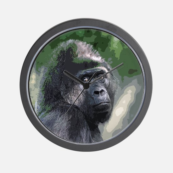 Funny Gorilla Wall Clock