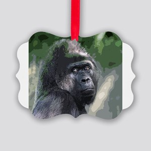 Gorilla_2014_0901 Picture Ornament