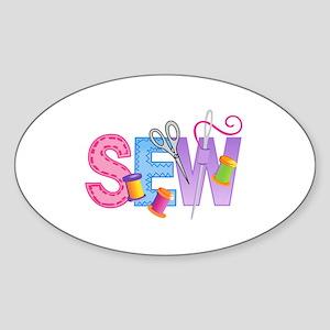 SEW MONTAGE Sticker
