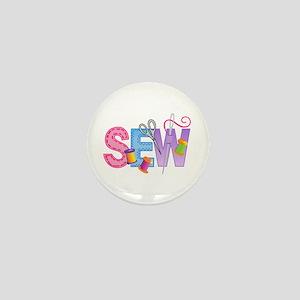 SEW MONTAGE Mini Button