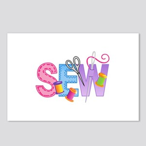 SEW MONTAGE Postcards (Package of 8)