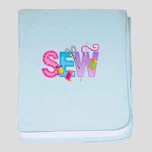 SEW MONTAGE baby blanket