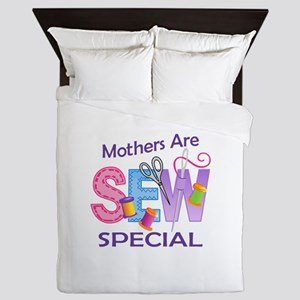 MOTHERS ARE SEW SPECIAL Queen Duvet