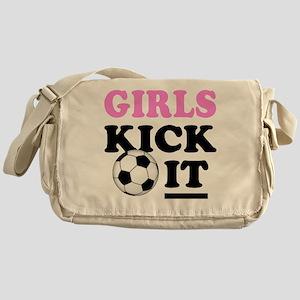 Girls Kick It Messenger Bag