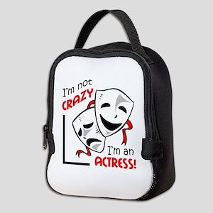 IM AN ACTRESS Neoprene Lunch Bag