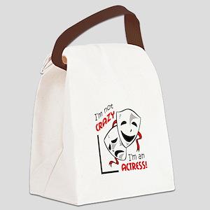IM AN ACTRESS Canvas Lunch Bag