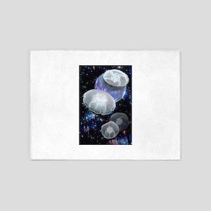 Moon Jellies 2 5'x7'Area Rug