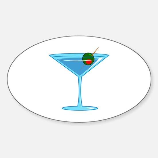 LARGE MARTINI Decal